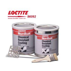 Lớp phủ ngoài chịu được hóa chất Loctite 96092